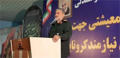 رزمایش مواسات و همدلی با همکاری شرکت فولاد خوزستان برگزار شد