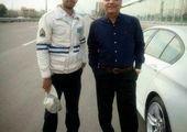 مهران مدیری بر فراز برج میلاد + عکس
