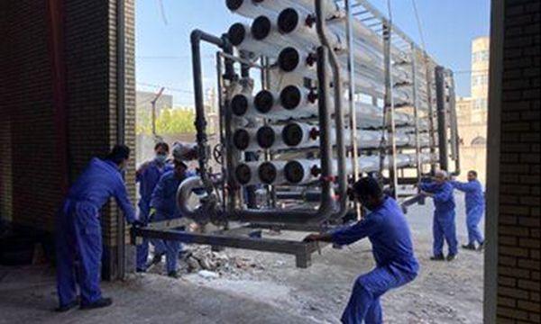 ظرفیت تولید آب در زاهدان ۵۰ لیتر بر ثانیه افزایش یافت