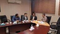 دیدار مدیر بیمه های درمان بیمه سرمد با مدیران جمعیت هلال احمر و بانک صادرات خوزستان
