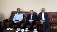 صالحی امیری با سفیر ایران در قزاقستان دیدار کرد