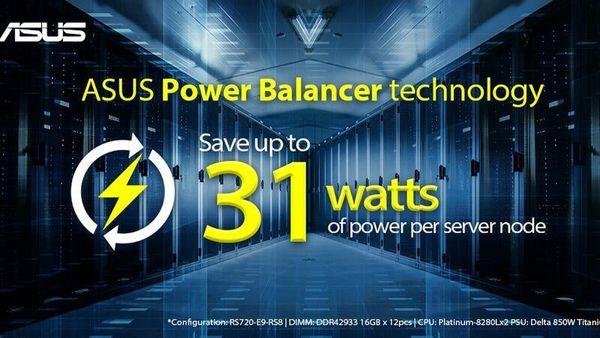 رونمایی از فناوری اختصاصی Power Balancer برای سرورهای ایسوس