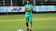 فرهاد مجیدی تماشاگر یکی از بازی های لیگ