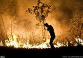 تمهیدات شهرداری منطقه۱۳ برای جلوگیری و مهار آتش سوزی در جنگل سرخه حصار