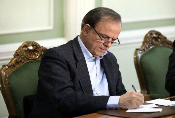 رزم حسینی وزیر صنعت شد