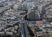 پیشبینی وزش باد و رگبار باران در تهران