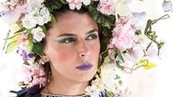 پوشش عجیب لیلا حاتمی + عکس