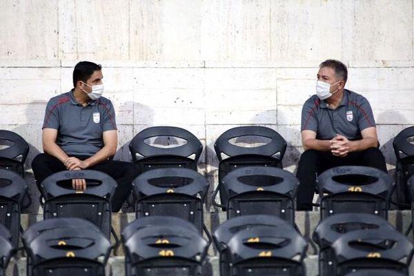 حضور کادر فنی تیم ملی در دیدار فینال جام حذفی