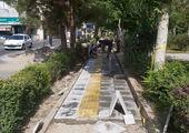 نواختن نمادین  زنگ آغاز سال تحصیلی و بهسازی فضای سبز مدارس منطقه 13