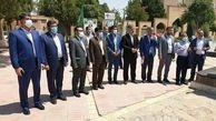 تجدید بیعت اعضای شورای اسلامی ششم شهر اراک با شهدا، در نخستین روز کاری