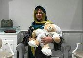 بارداری خانم بازیگر در سن ۵۲ سالگی +عکس