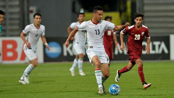 نورافکن جزء ستاره های کلیدی گروه C مسابقات قهرمانی زیر 23 سال آسیا
