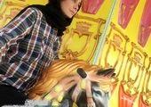 تیپ زرد رنگ شراره رخام +عکس