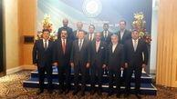 سومین مجمع عمومی کمیته های المپیک کشورهای آسیای میانه برگزار شد