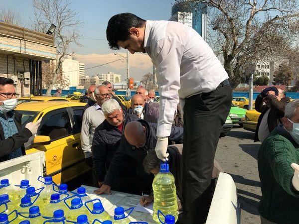 اجراى ضدعفونى تاکسى هاى شهر تهران