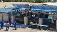 ساخت چهار نیروگاه خورشیدی به ظرفیت 70 کیلووات