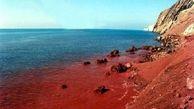 ساحلی به رنگ خون در ایران! +عکس