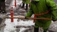 تدابیر شهرداری منطقه 3 جهت جلوگیری از یخ زدگی معابر و بزرگراه ها