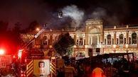 علت آتش سوزی میدان حسن آباد مشخص شد