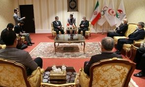 دیدار سفیر ژاپن با رئیس کمیته ملی المپیک