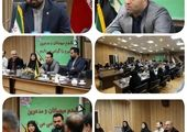 دیدار رئیس سازمان بسیج شهرداری تهران با شهردار منطقه ۶