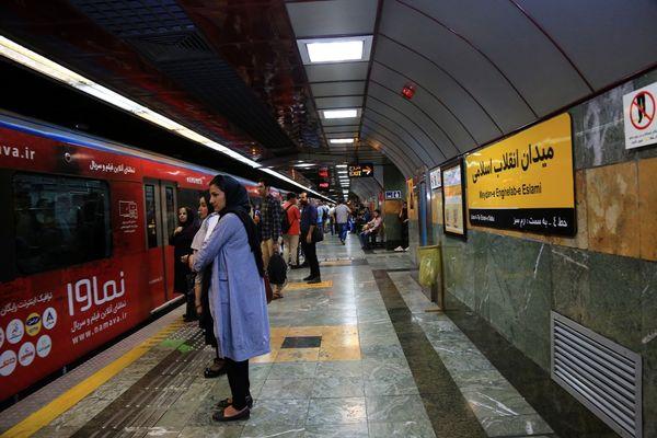 خدمات رسانی رایگان مترو به شرکت کنندگان در مراسم راهپیمایی حمایت از اقتدار و امنیت ملی