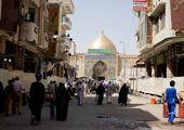 خواهر مسیح علینژاد در پیادهروی اربعین+عکس