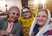 بهنوش بختیاری و خواهرزاده اش+عکس