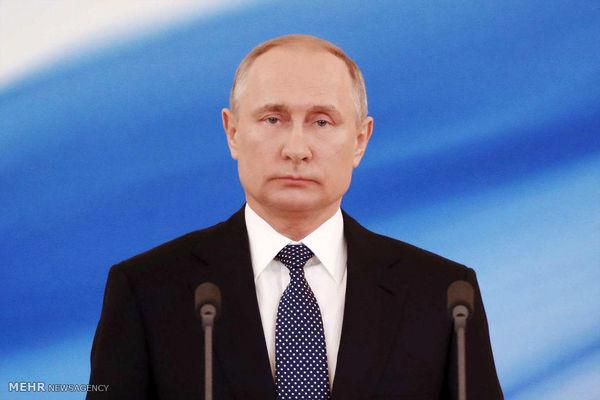 پوتین در مراسم روز وحدت ملی روسیه+عکس