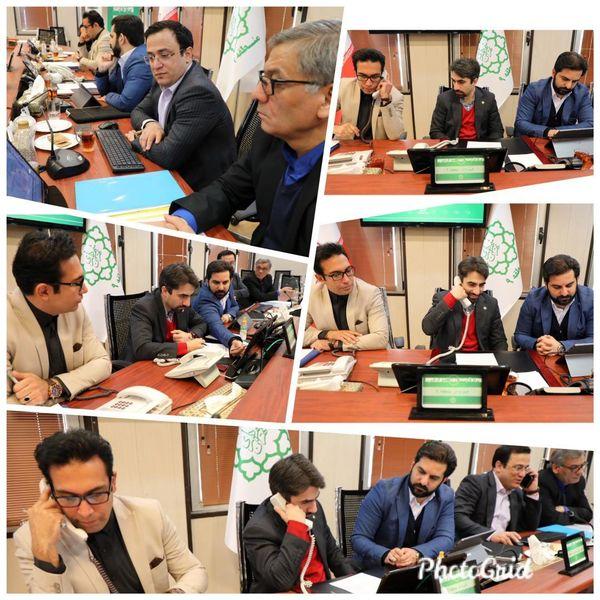 تماس تلفنی سرپرست شهرداری منطقه9 با شهروندان
