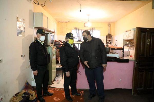 ۵۸ خانه پاتوق معتادان در بافت فرسوده منطقه۱۳ پلمپ شد