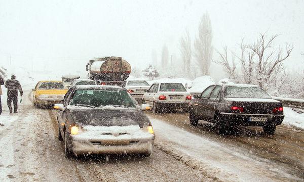 وضعیت نیمهبحرانی جادههای کشور