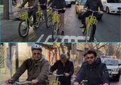 بازدید به منظور استمرار پویش سه شنبه های بدون خودرو با دوچرخه