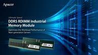 رونمایی از DDR5 RDIMM های صنعتی در نیمه دوم سال 2022