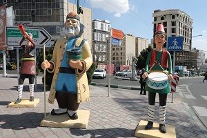 نصب المانهای نوروز ۱۴۰۰ درمنطقه2 پایتخت
