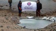 اهتزاز پرچم بانک ایران زمین بر فراز قله سبلان