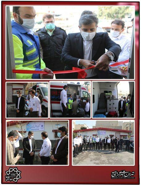 احداث اورژانس محلی با مشارکت شهرداری منطقه 15