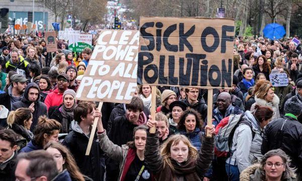 بازداشت ۸۵ نفر در تظاهرات  تغییرات اقلیمی نیویورک