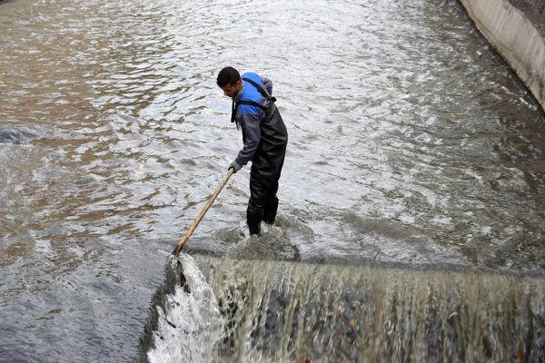 لایروبی مستمر کانال ها و مسیل های شمال شرق تهران برای آبگرفتگی های احتمالی