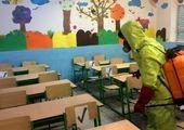 آیین بازگشایی مدارس در دبیرستان پسرانه جاویدان