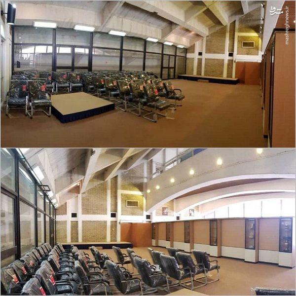 سالن جدید کنفرانس خبری ورزشگاه آزادی+عکس