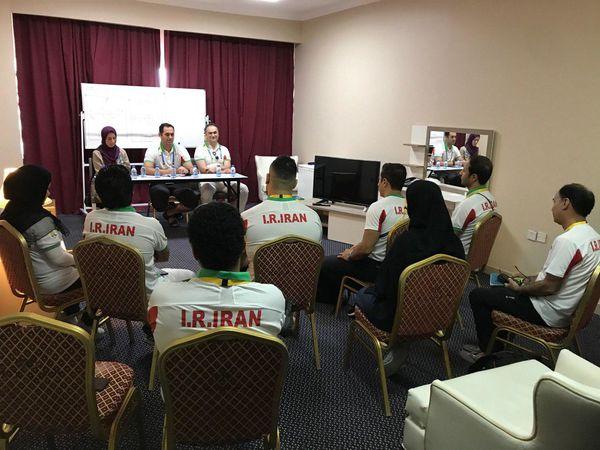 نشست کادر سرپرستی کاروان ورزشی کشورمان برگزار شد