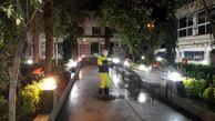 اقدامات ضد کرونایی مدیریت شهری در محله های مرکزی شهر تهران در حال انجام است