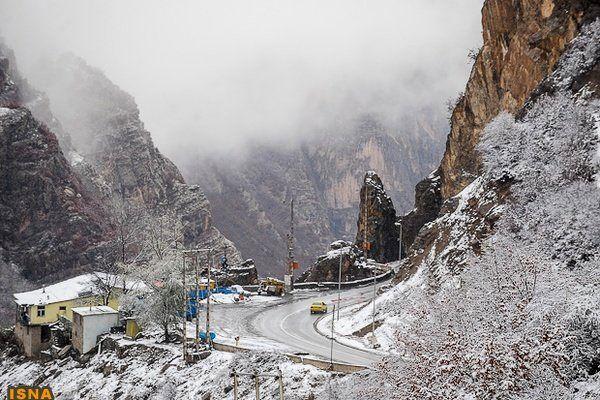 پیش بینی برف و باران ۶ روزه در ۳۱ استان
