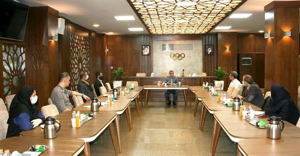 جلسه شورای مدیران آکادمی ملی المپیک برگزار شد