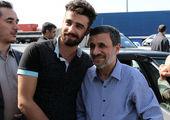 احمدینژاد خودش را فوتبالیست معرفی کرد+عکس
