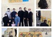 تصویرگری شهدا در فضای شهر با هدف پاسداشت مجاهدت های رزمندگان دفاع مقدس