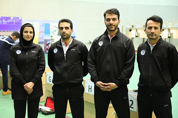 حضور تیم بانک کارآفرین در لیگ کشوری رشته تیراندازی