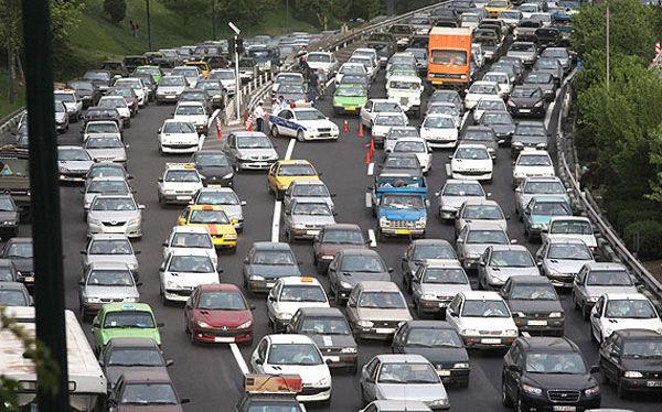 افزایش ترافیک پایتخت در هفته اول مهر