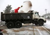 آماده باش نیروهای برف روب شمال تهران قبل از شروع بارش ها